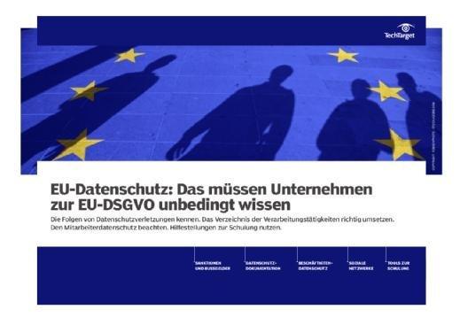 Kostenloses E-Handbook: Das müssen Firmen zur DSGVO wissen