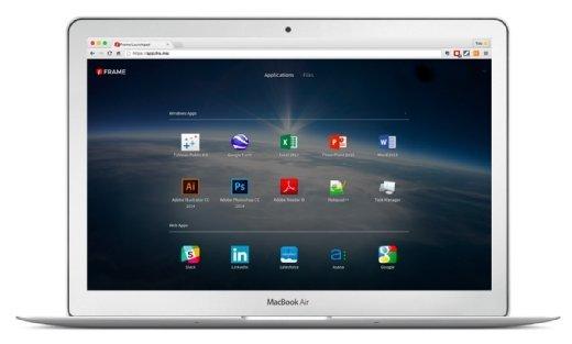 Frame erlaubt die Nutzung von Windows-Anwendung auf einem beliebigen Endgerät über den Browser.