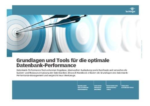 E-Handbook Grundlagen und Tools für die optimale Datenbank-Performance