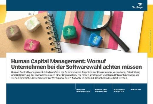 E-Handbook Softwareauswahl Human Capital Management