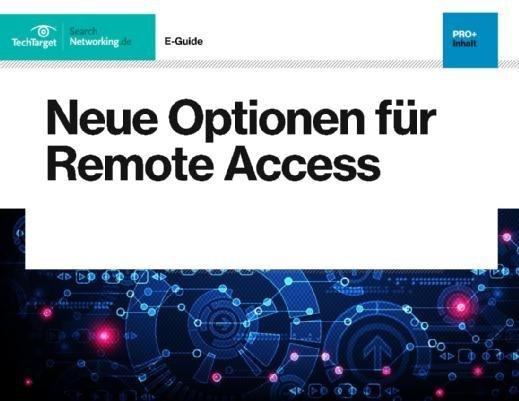 Gratis PDF zu den Themen Cloud-basierter Remote Access, VPN sowie Remote-Access-Services und -Produkte.