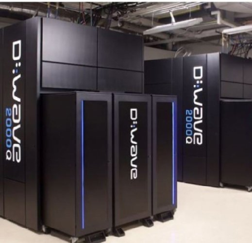 Der Quantenrechner D-Wave 2000Q des kanadischen Anbieters D-Wave Systems