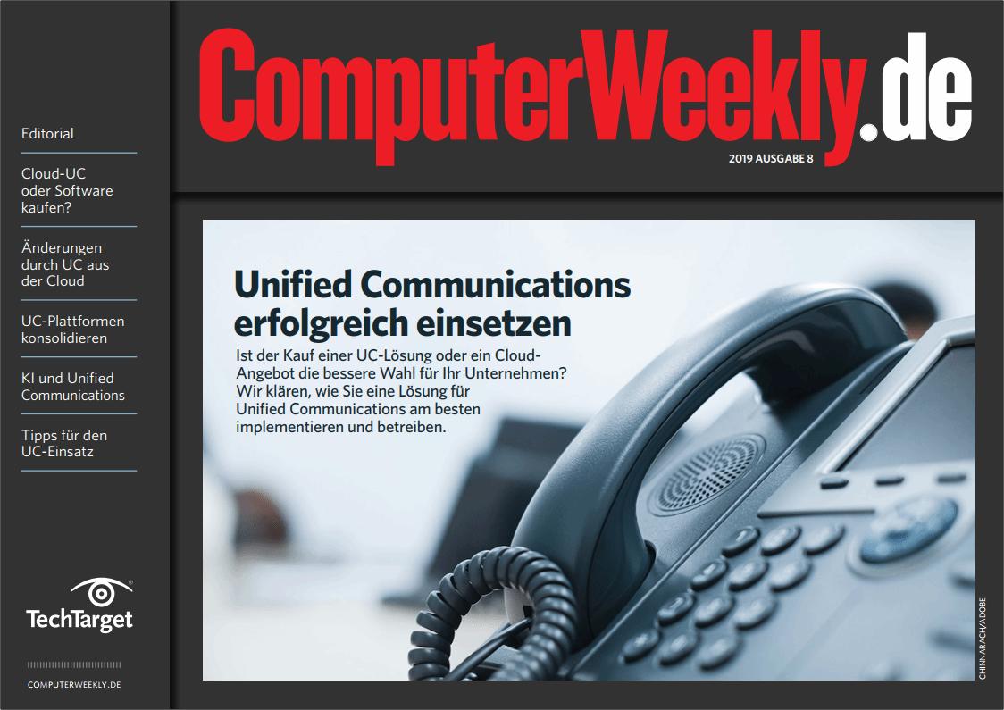 Das Gratis-eBook Unified Communications erfolgreich einsetzen bietet Ihnen Fachwissen auf 20 Seiten.