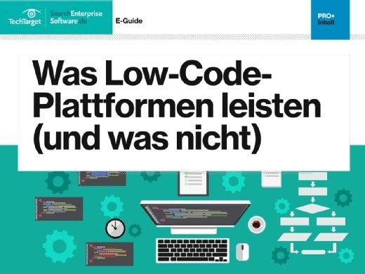 E-Guide Low-Code-Entwicklung