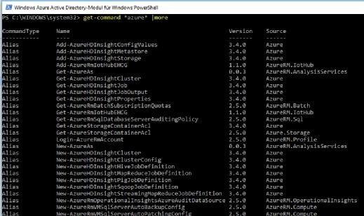 Microsoft Azure lässt sich auch trefflich per PowerShell verwalten.