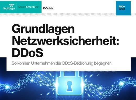 Kostenloser E-Guide: DDoS-Angriffen richtig begegnen