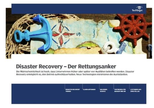 Kostenloses E-Handbook: Rettungsanker Disaster Recovery