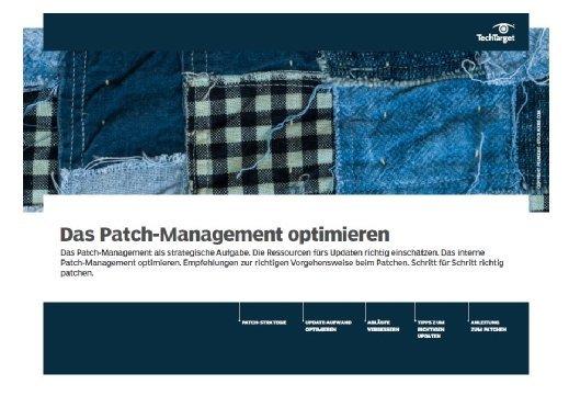 Kostenloses E-Handbook: Das Patch-Management optimieren