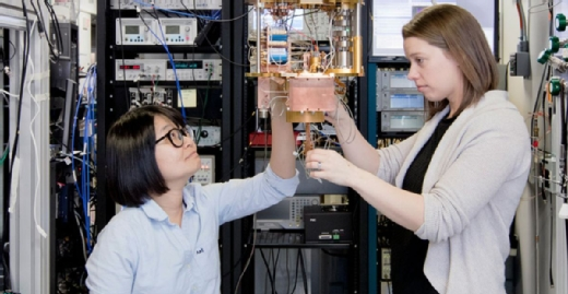 Erste Versionen von Quantencomputern, hier der IBM Q Experience, sind bereits verfügbar.