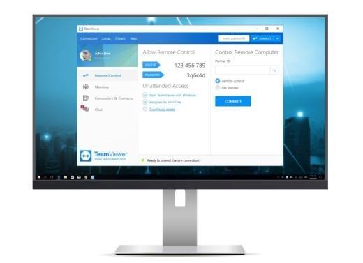 Teamviewer 13 Beta - Benutzeroberfläche
