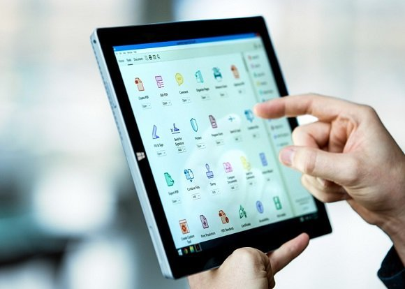 Document Cloud sur Tablette