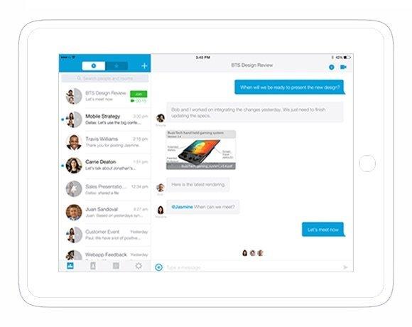 Le client Spark sur iPad