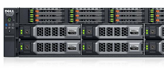 Les PowerEdge de 13e génération peuvent mixer disques 1,8'', 2,5'' et 3,5''