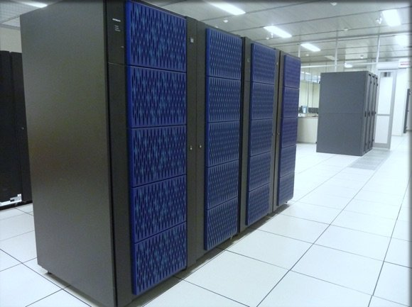 Une salle du datacenter Hitachi à Orléans