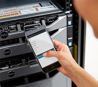 OpenManage Mobile et le module NFC QuickSync en frontal des serveurs PowerEdge