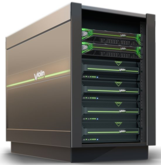 Une baie Flash Storage Platform de Violin Memory