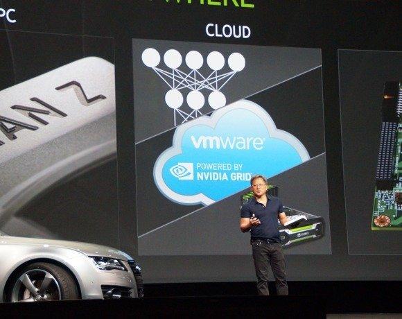 Nvidia GTC - alliance VMware - Nvidia sur Grid