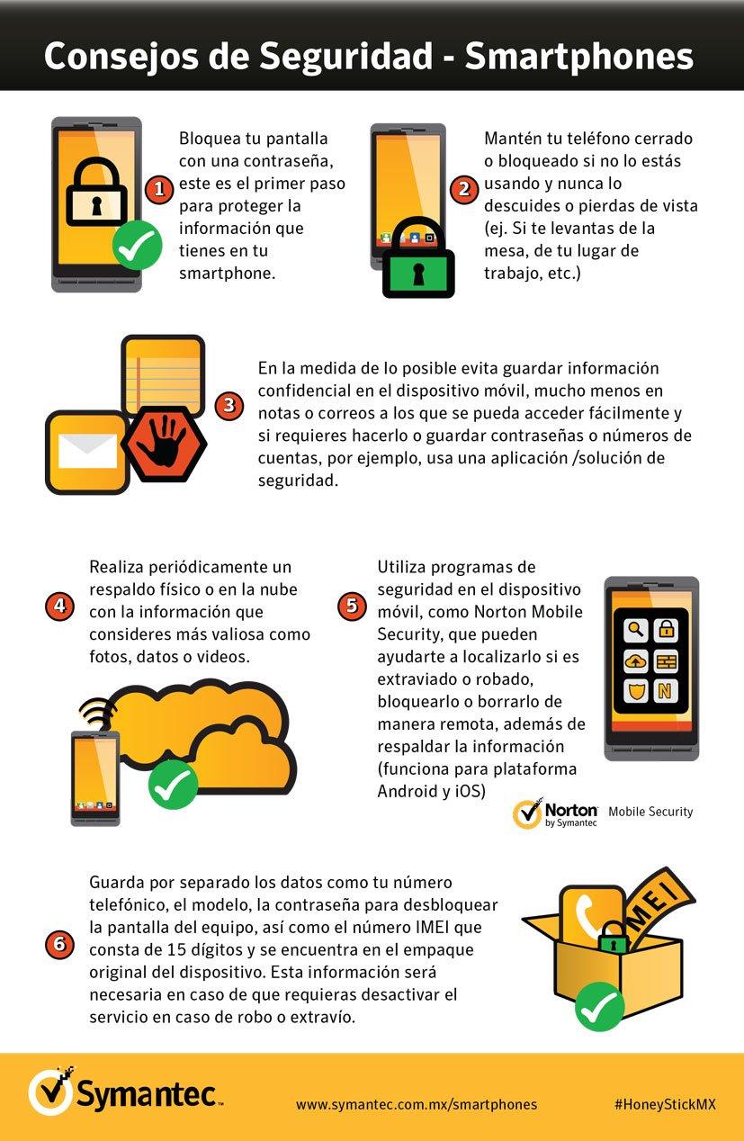 Consejos de seguridad para smartphones
