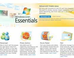 Windows Live Essentials 2011 now available as free download