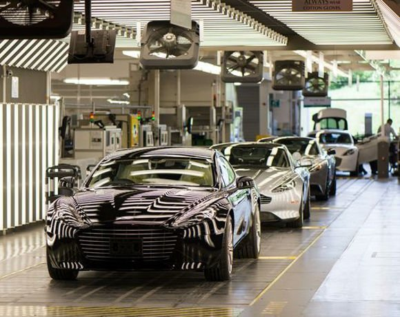 Final Qa Check Before Aston Martins Roll Off Production Line A Tour Of The Aston Martin Factory