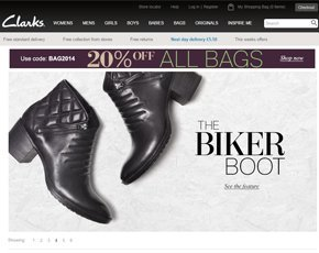 Clarks shoes steps into digital