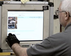 Manufacturing execution system captures factory floor data