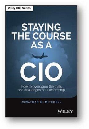 Staying the course as a CIO book cover