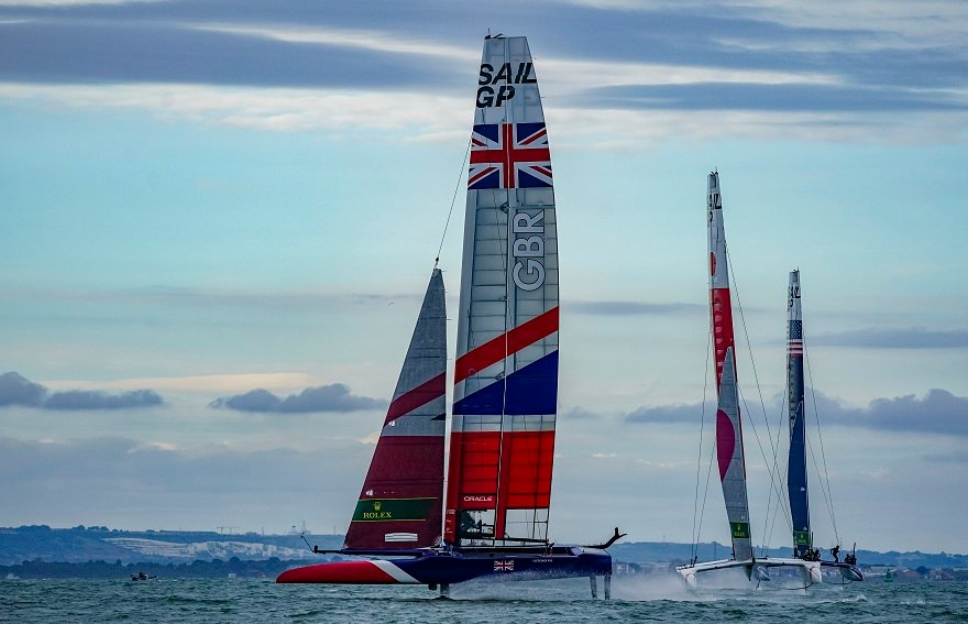 SailGP comes to the UK for Cowes Week - SailGP: bringing sailing to