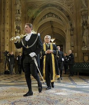 Serjeant at Arms Lawrence Ward, who resigned in 2014 because of security concerns