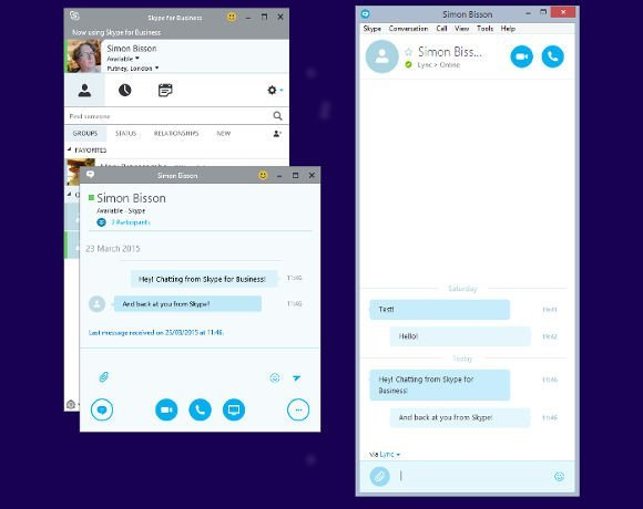 Microsoft Office 2016 Preview: Lync becomes Skype for
