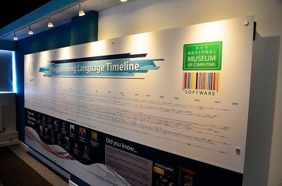 a timeline of the history of programming languages