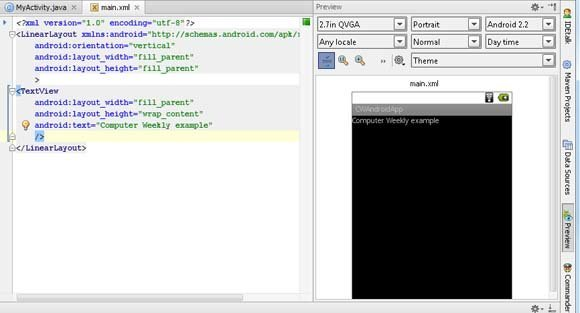 Android development - Review of IntelliJ IDEA, a Java IDE