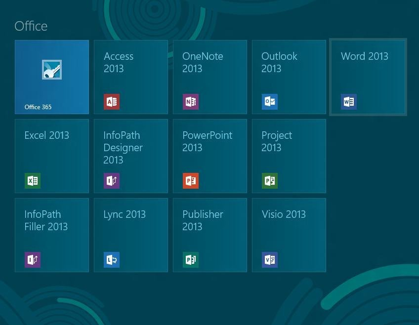 office 2013 the main components source microsoft