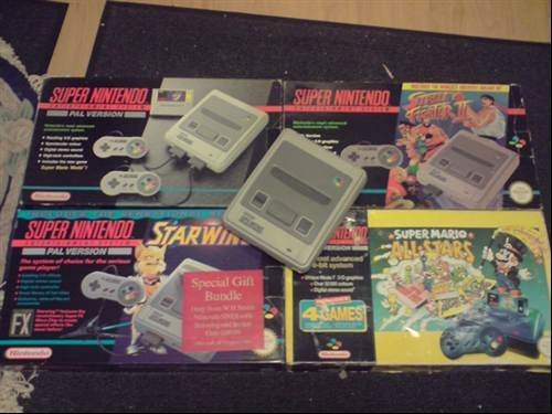 Super Nintendo Snes 1992 Photos My Retro Consoles
