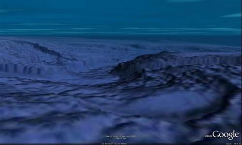 Google Earth The Sea Floor At Monterey Photos Google