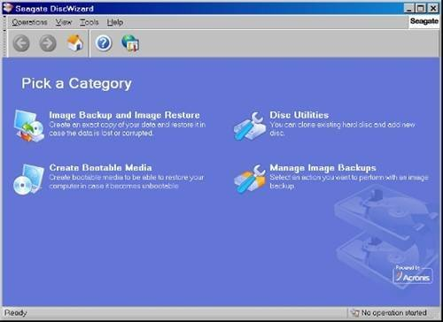 Using Seagate DiscWizard - Photos: How to upgrade your hard disk