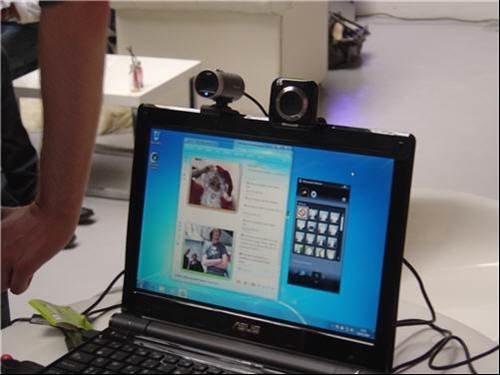 Hd web camera on msn live messenger microsoft gadgets for Live camera website