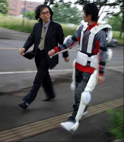 Japan Beats The Us To It Cyberdyne Hal Robotic