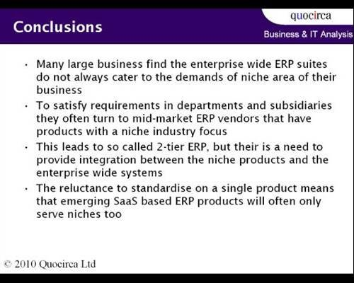 Conclusion A Guide To Erp For Small And Large Businesses