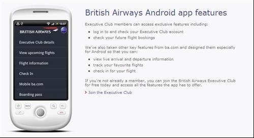 Use Your Mobile Phone As A Boarding Pass British Airways Launches