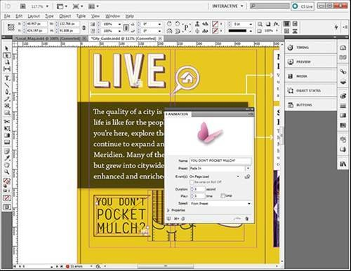 how to change the perspective of an image in indesign
