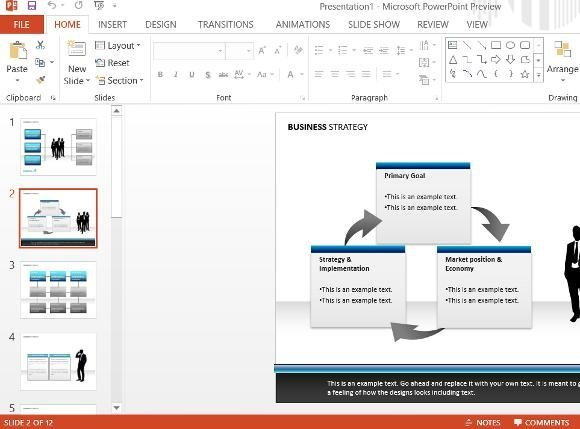 powerpoint 2013 presenter view first look microsoft office 2013