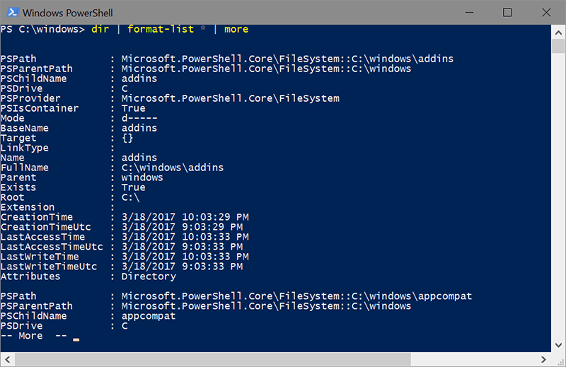 Key concepts: PowerShell Pipeline and PowerShell Objects