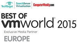 VMworld 2015 Europe User Awards