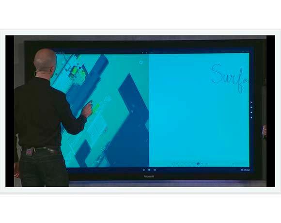 Using the Microsoft Surface Hub