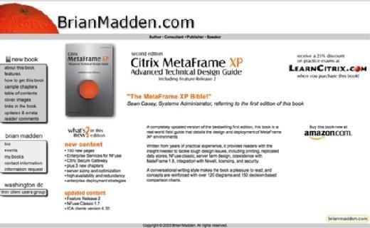 BrianMadden.com in late 2002