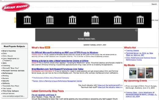 BrianMadden.com in 2004