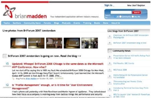 BrianMadden.com in 2007