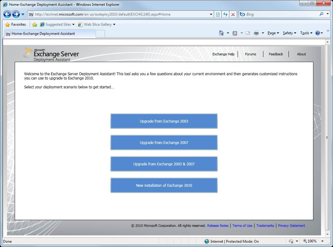 Select your deployment scenario with ExDeploy