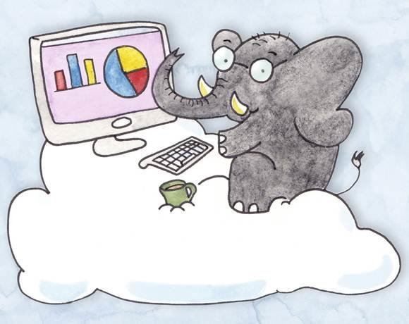 Hadoop on the cloud (SOURCE: Illustration by Mike Kloran)